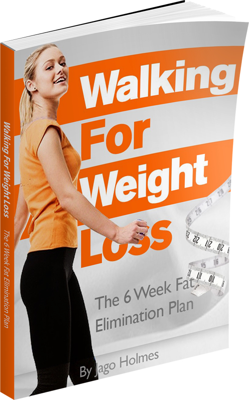 Walking for weight loss ebook image